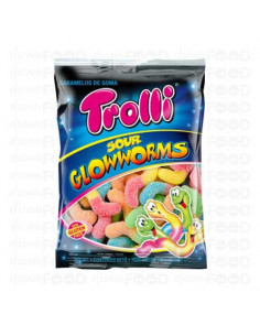 Sour Glowworms 100g