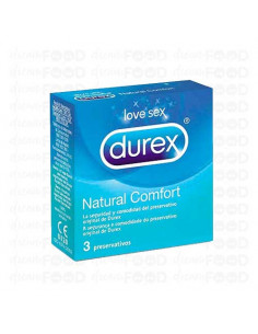 Durex Natural Confort 3 ud