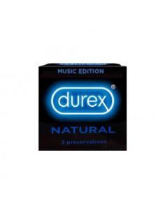Durex Basic Natural Music 3ud