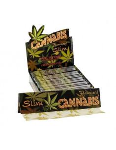 "Papel Slim ""Cannabis"""