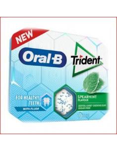 Trident OralB Hierbabuena x12
