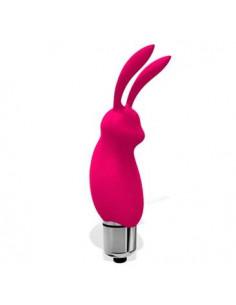 Bala Conejo Silicona Rosa