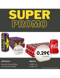 PROMO Coca Cola + Rockstar