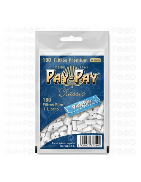 Pay-Pay Filtros 180 + Papel