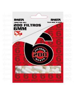 200 Filtros 6mm RASTA